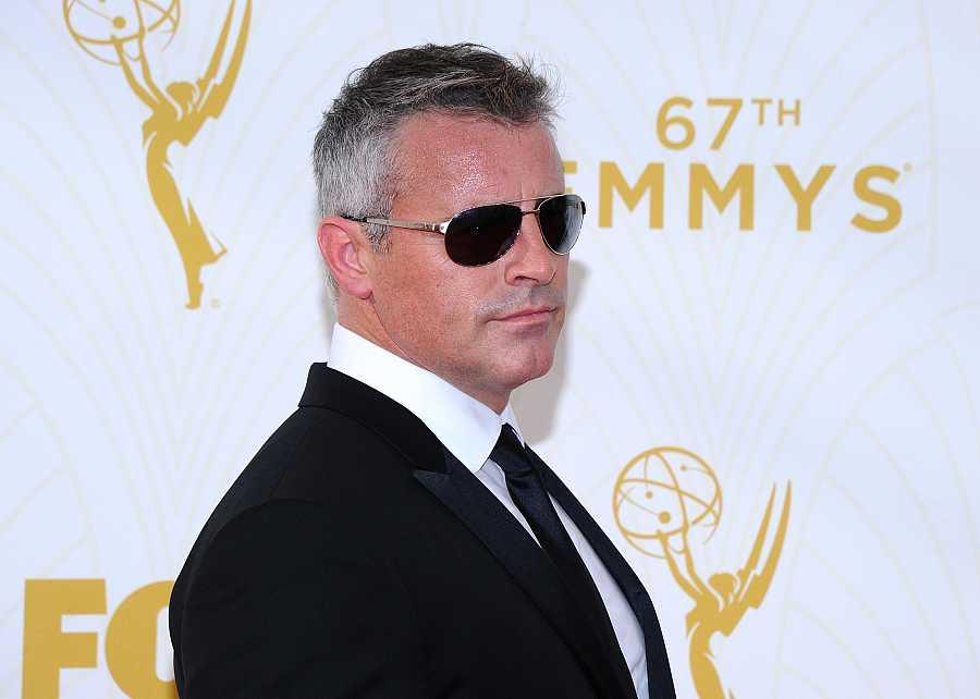 Matt LeBlanc en la 67ª edición de los Premios Emmy, hace cinco años