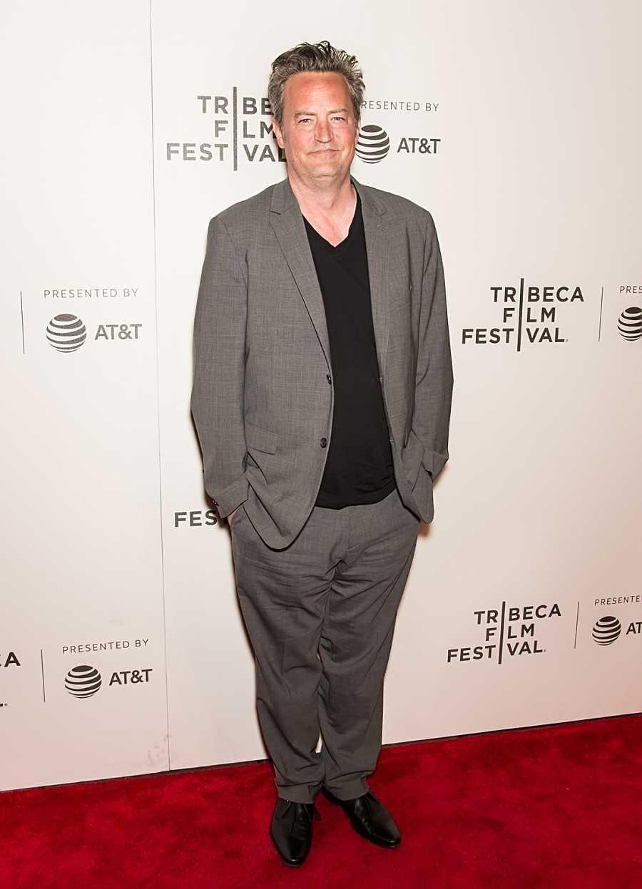 El actor Matthew Perry en la premiere de 'The Circle' durante el Festival de Cine de Tribeca, en Nueva York