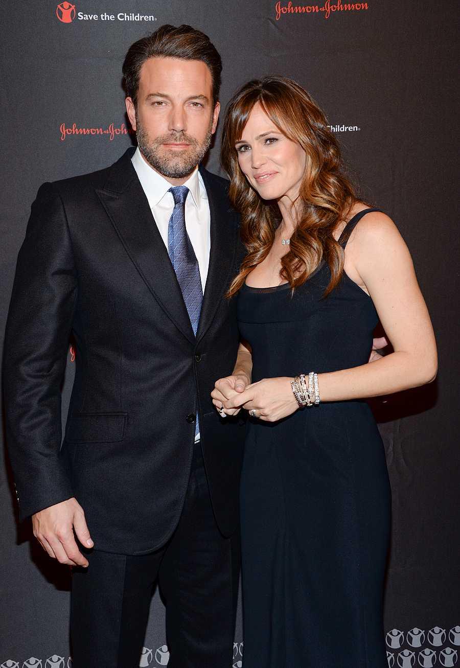Ben Affleck y Jennifer Garner en la gala anual de la organización Save the Children en 2014