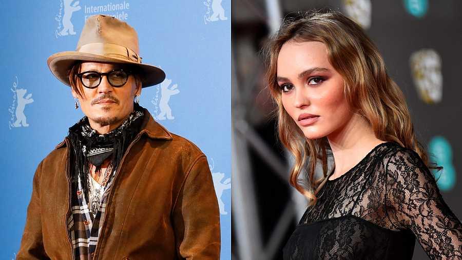Johnny Depp tiene una hija, Lily Rose