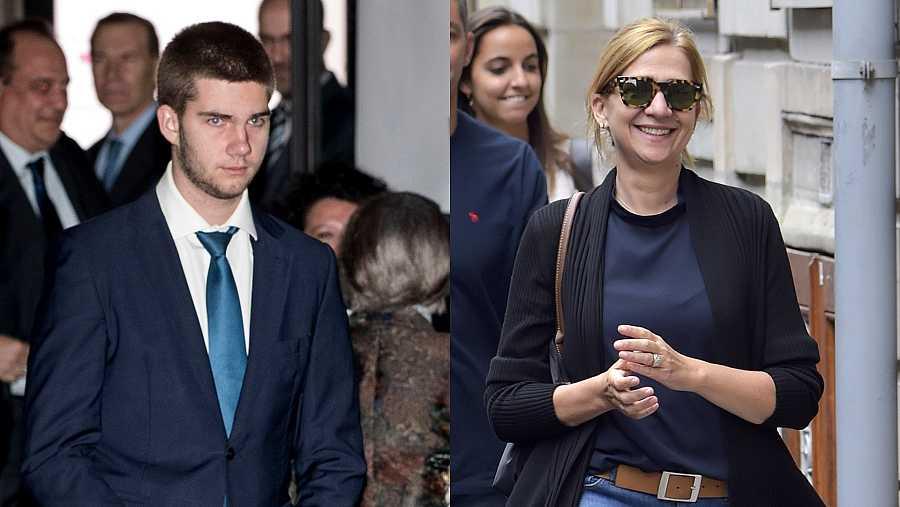 Juan Valentín es el hijo mayor de Cristina de Borbón