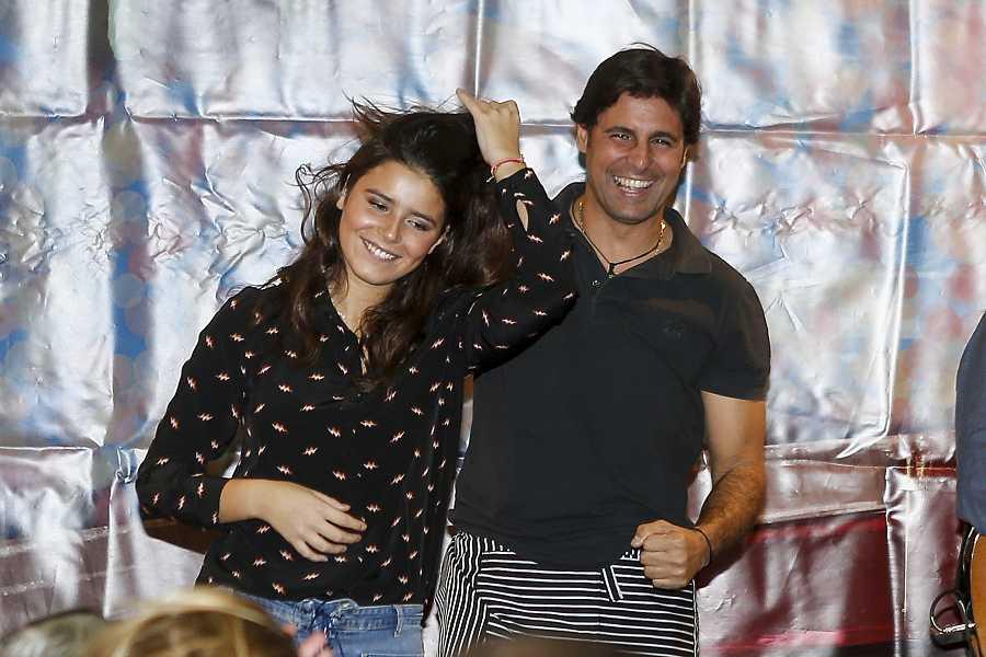 Francisco Rivera con su hija Cayetana