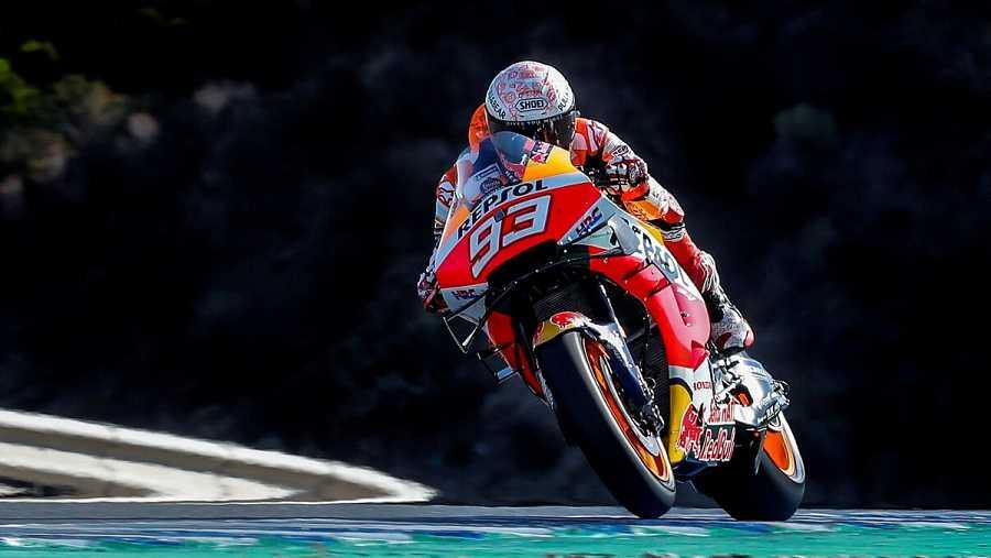 Imagen: Marc Márquez saldrá desde la tercera posición