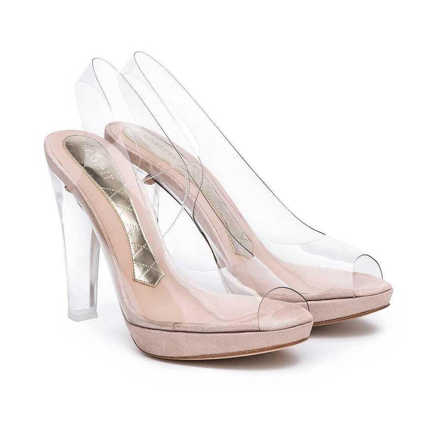 Unos zapatos con plataforma hacen que el tacon sea más cómodo sin renunciar a la elegancia