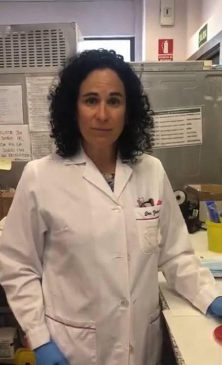 Marisa García Alonso, en el vídeo original