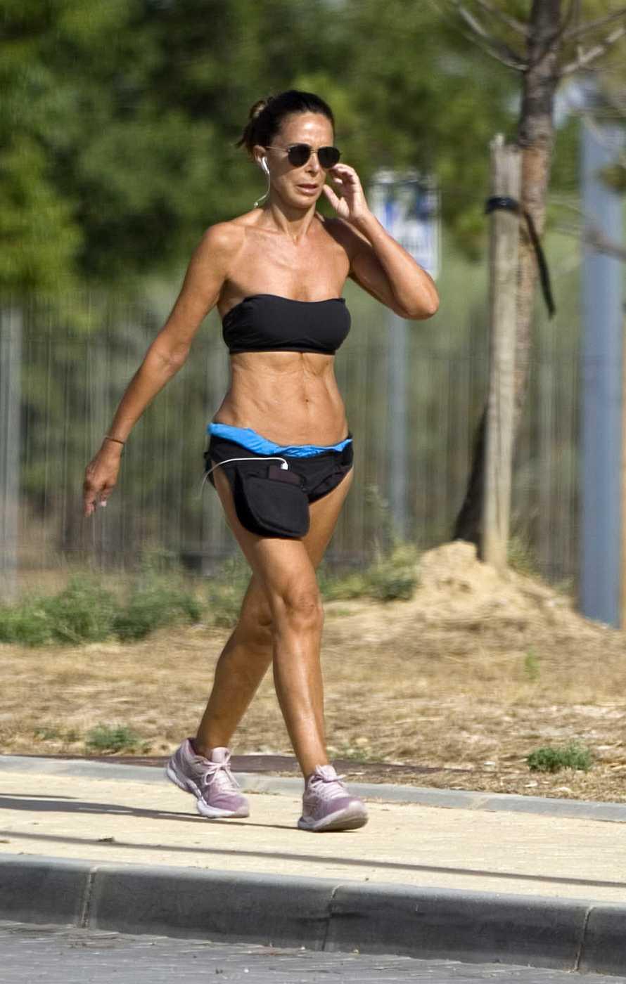 Lidia Bosch, espectacular a sus 56 años