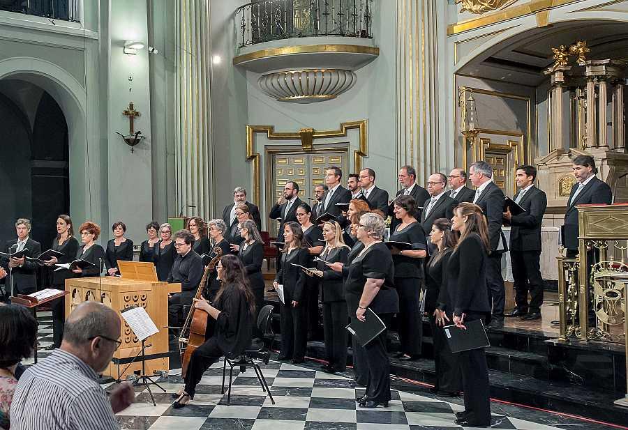 El Coro RTVE en la Basílica de Nuestra Señora de Atocha