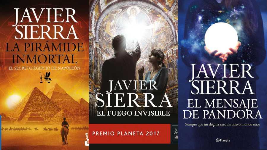 Sant Jordi: Javier Sierra