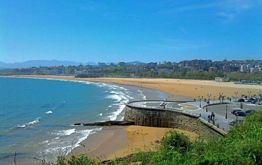 Playa del Sardinero (Santander, Cantabria)