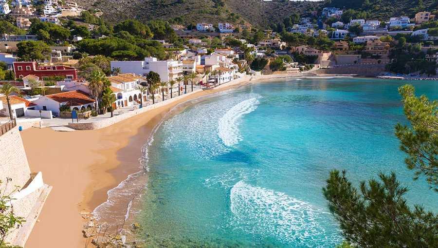 Playa el Portet, Moraira, Alicante