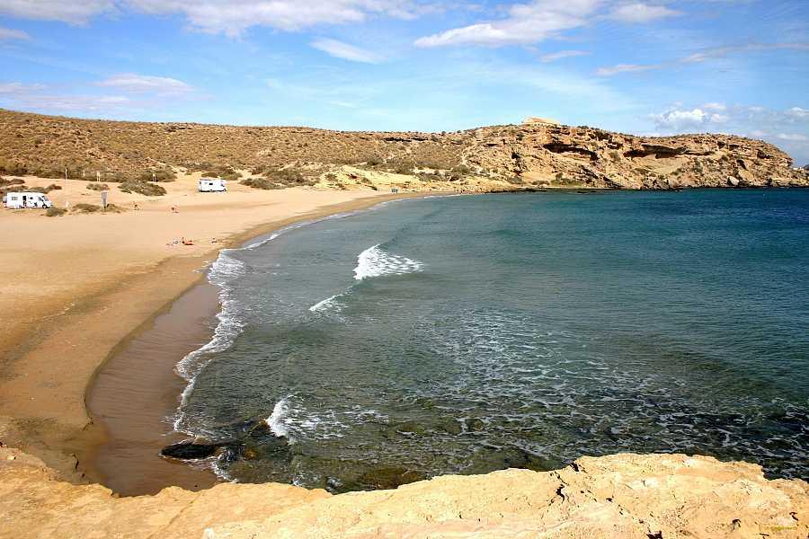 Playa de La Carolina, Las Águilas, Murcia