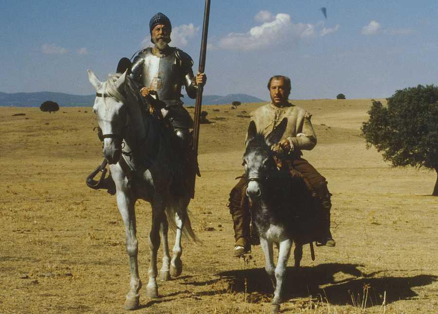 Fernando Rey y Alfredo Landa protagonizan 'El Quijote'