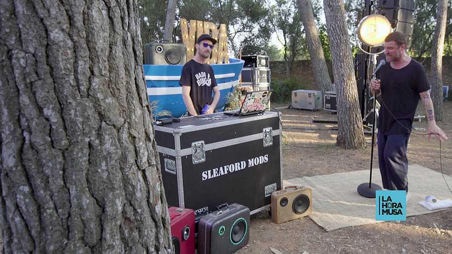 Los ingleses SLEAFORD MODS en directo en La Hora Musa