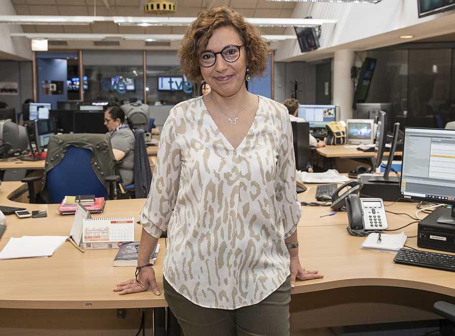 Carolina Pecharromán, editora de Igualdad de TVE