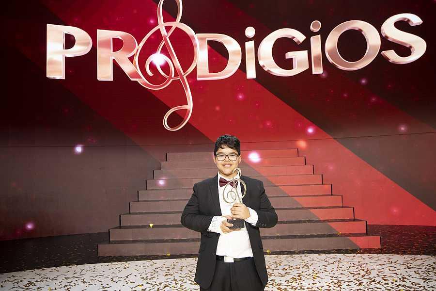 Jesús Gabriel, ganador de la segunda temporada de 'Prodigios'