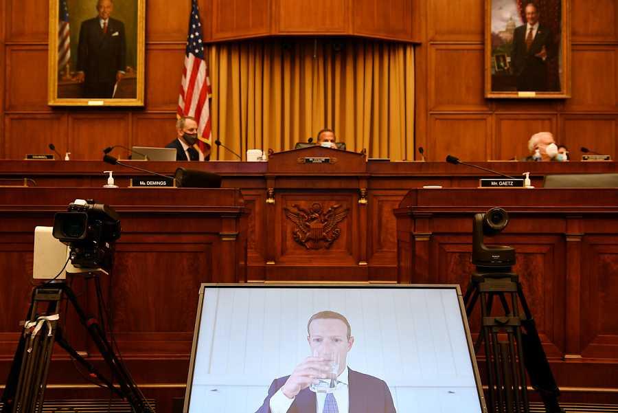 Mark Zuckerberg comparece en el Congreso