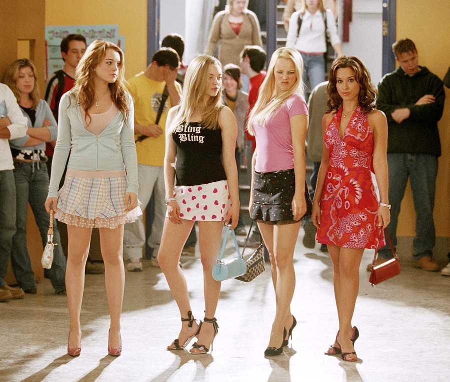 Lindsay Lohan, Amanda Seyfred, Rachel McAdams y Lacey Chabert en 'Chicas malas'