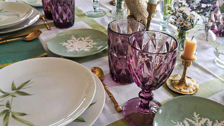 No hay que esperar a una ocasión especial. Cuaquier ocasión es el momento perfecto para poner una mesa bonita