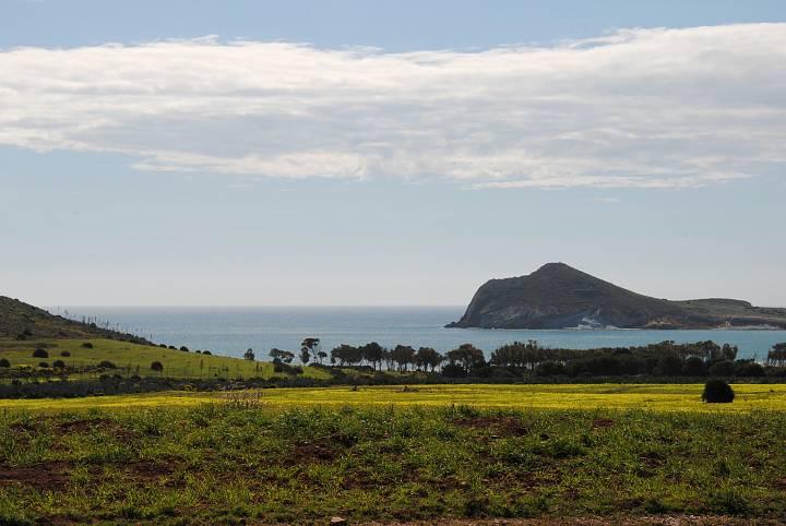 Imagen de la Bahía de los Genoveses en Almería