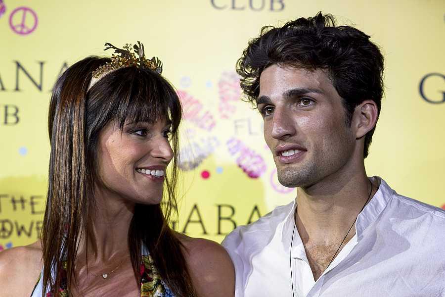 Sonia Ferrer y el modelo Nahuel Casares