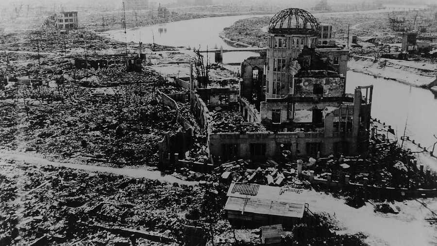 La Cúpula Gembaku, llamada 'cúpula de la bomba atómica', fue el edificio más cercano que resistió a la bomba de Hiroshima.
