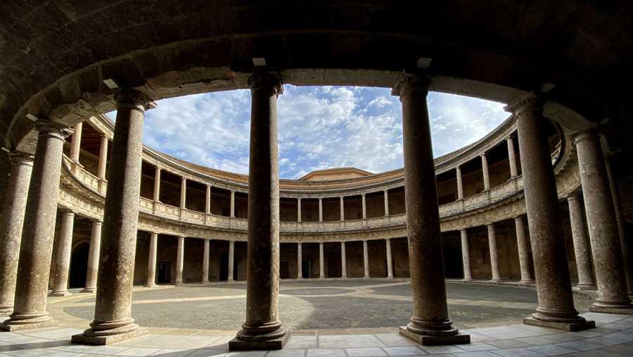Aquí la Tierra - Palacio de Carlos V en La Alhambra