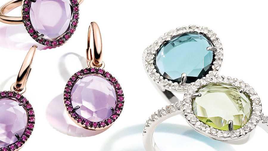Las joyas con color dan alegría y distinción a cualquier look