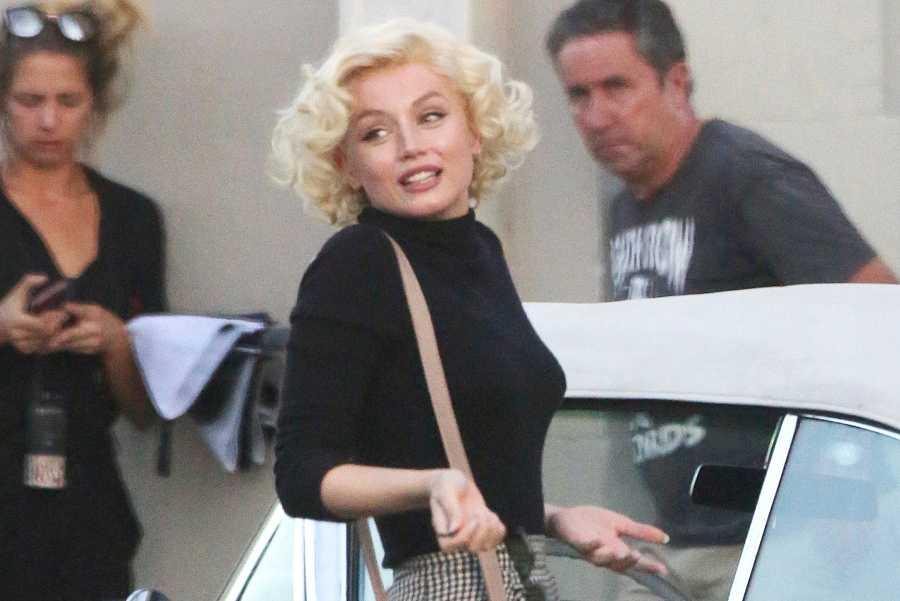 Ana de Armas en el papel de Marilyn Monroe