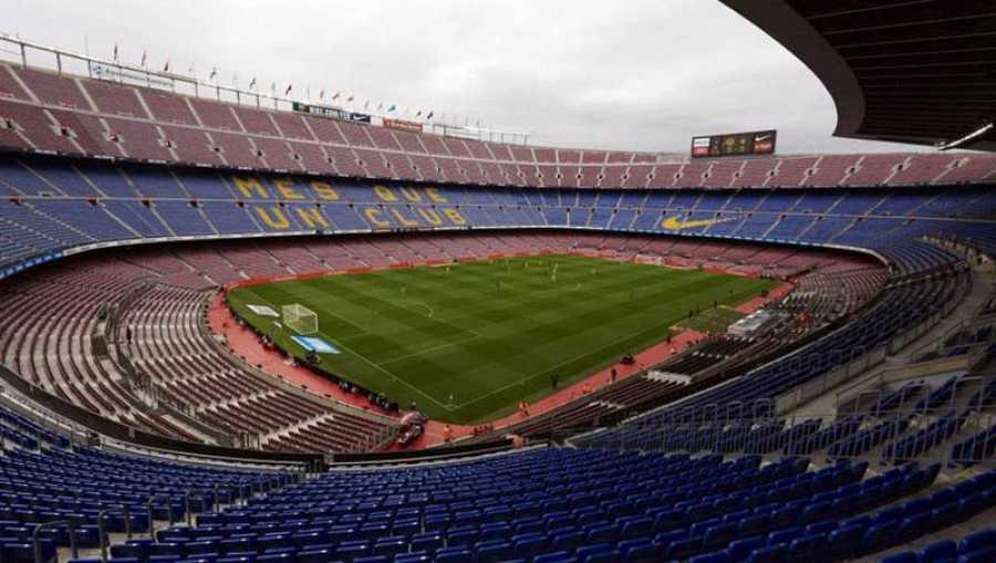 El Camp Nou, escenario del Barça-Nápoles