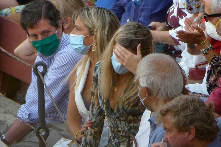Ana Soria, de mirar al ruedo tras la cogida a Enrique Ponce