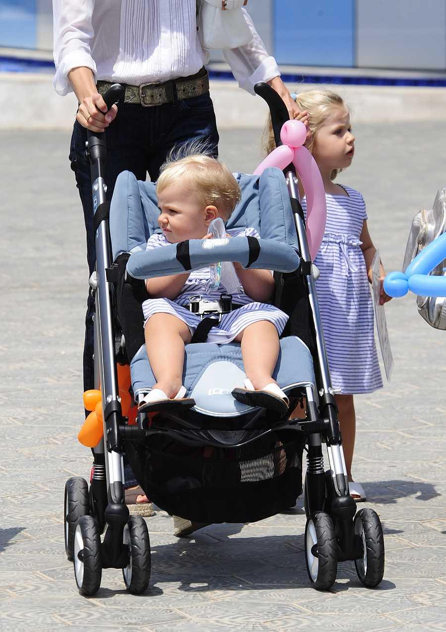 La infanta Sofía pasa su segundo verano en Mallorca en 2008