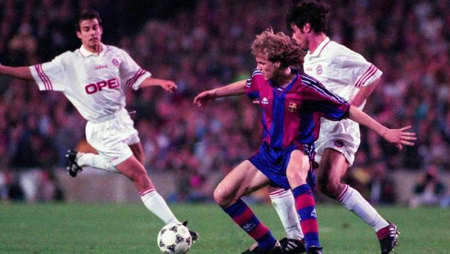 Barcelona 1-2 Bayern en 1996