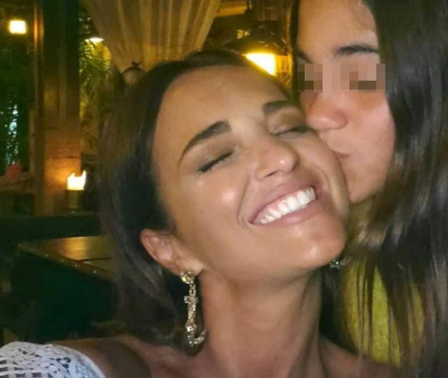 Paula Echevarría con su hija Daniela