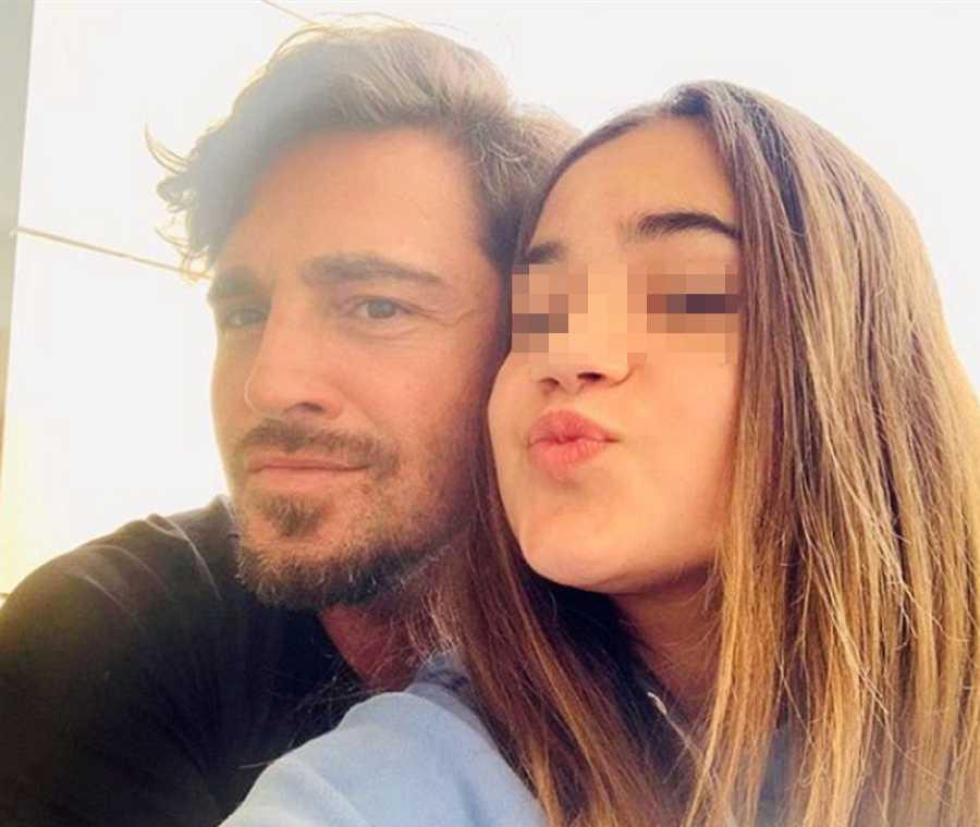 David Bustamante y su hija Daniela