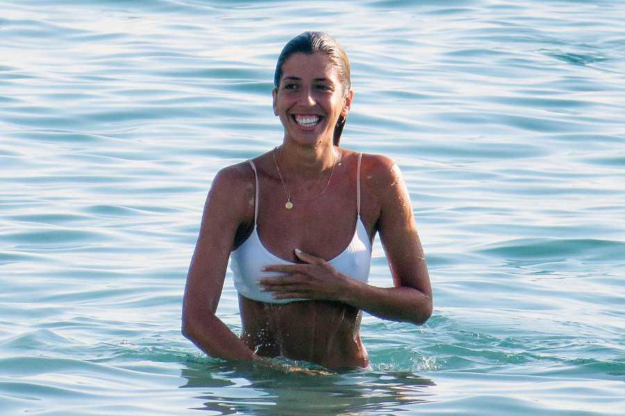 Karelys Rodríguez en sus vacaciones en Mallorca