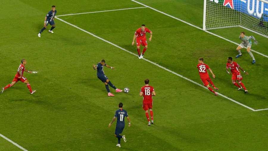 Mbappé, en una ocasión de gol