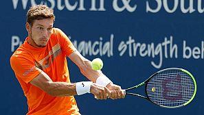 El tenista español Pablo Carreño durante su partido ante el ruso Karen Khachanov.
