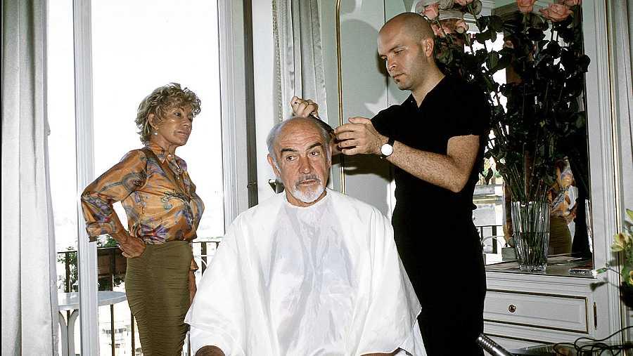 Sean Connery llevaba un fragmento de peluca en su etapa dorada como James Bond