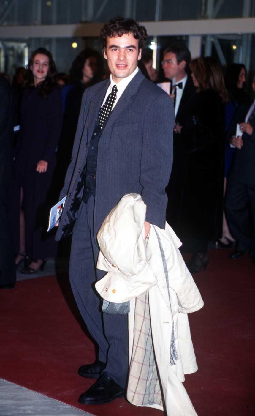 El actor Liberto Rabal durante los Premios Goya 1997