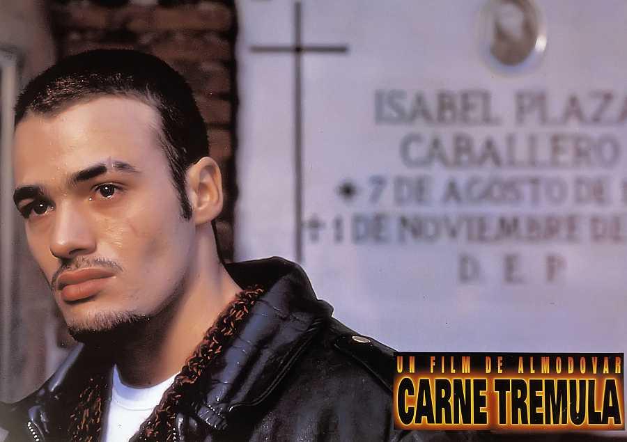 Liberto Rabal en 'Carne trémula' (Pedro Almodóvar, 1997)