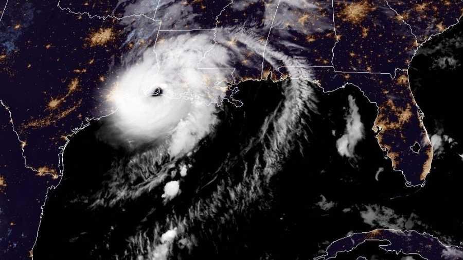 El huracán Laura es de categoria 4
