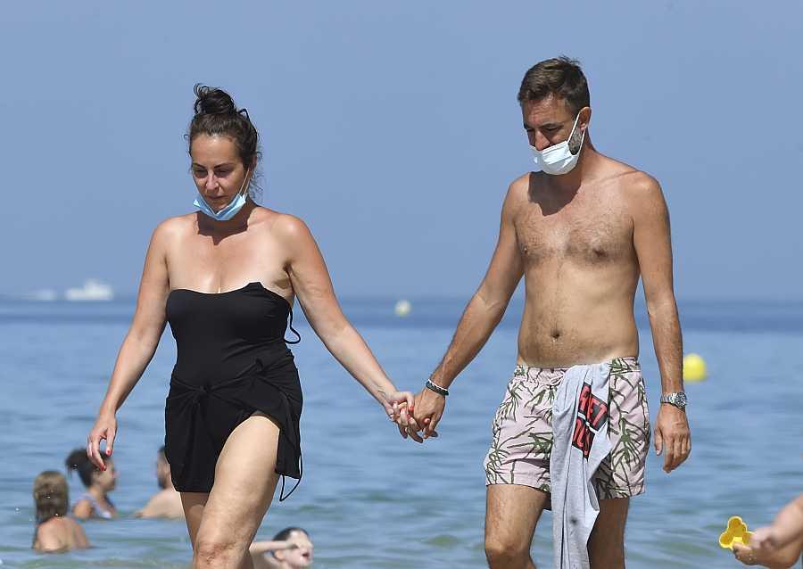 Ana Milán y su novio disfrutan de unas vacaciones en Cádiz