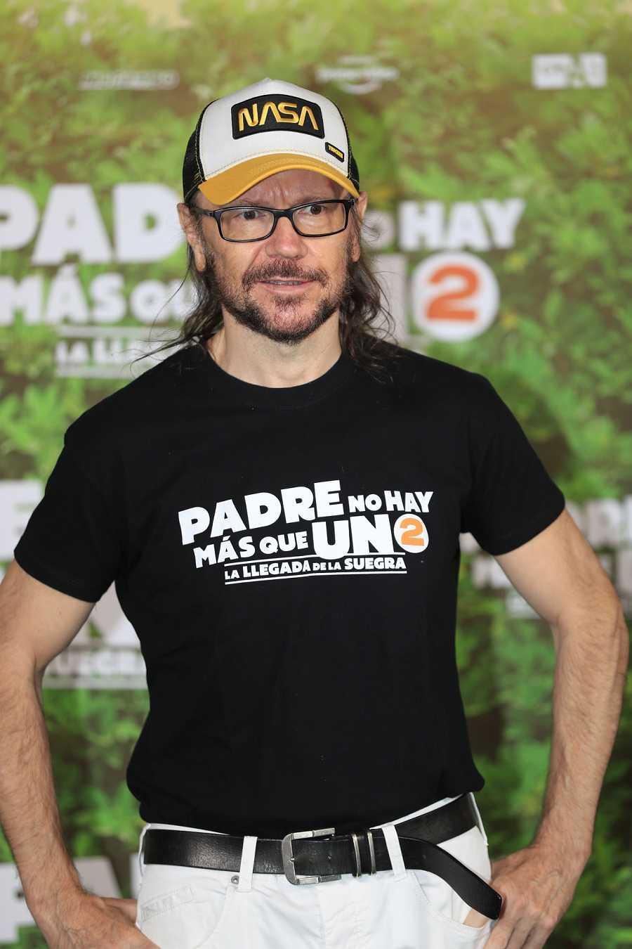 Santiago Segura en la presentación de su última película en el verano de 2020