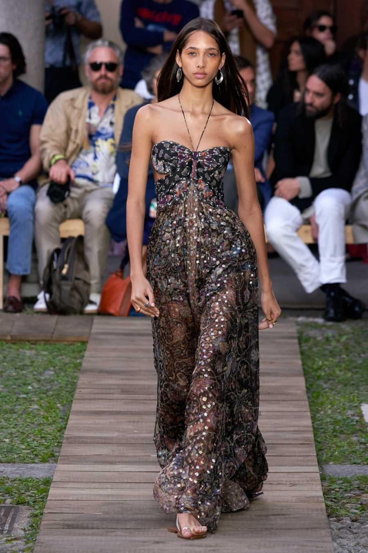 Vestido floral de la colección primavera/verano 2020 de Etro