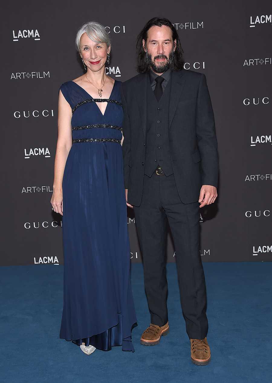 Keanu Reeves y su pareja actual, la artista Alexandra Grant