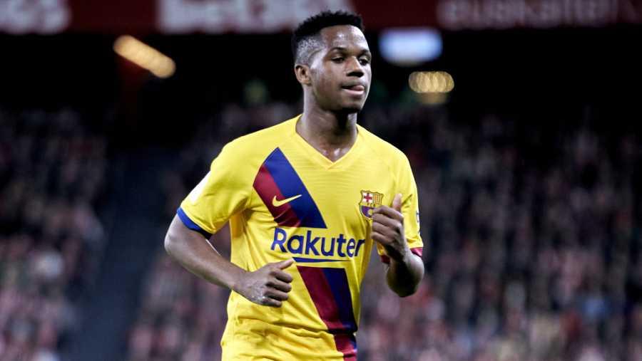 Ansu Fati, 17 años - FC Barcelona