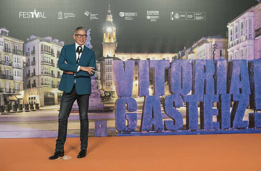Boris Izaguirre en el FesTVal de Vitoria