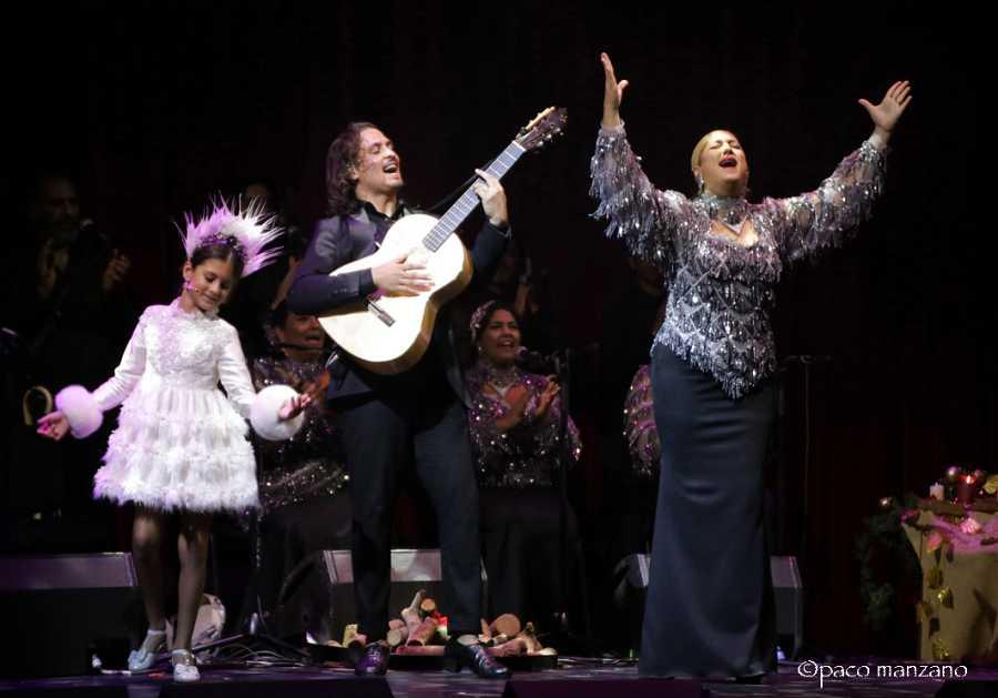 Farru, Julia y Soleá en 'Farrucos y Fernández: Navidad en Familia'