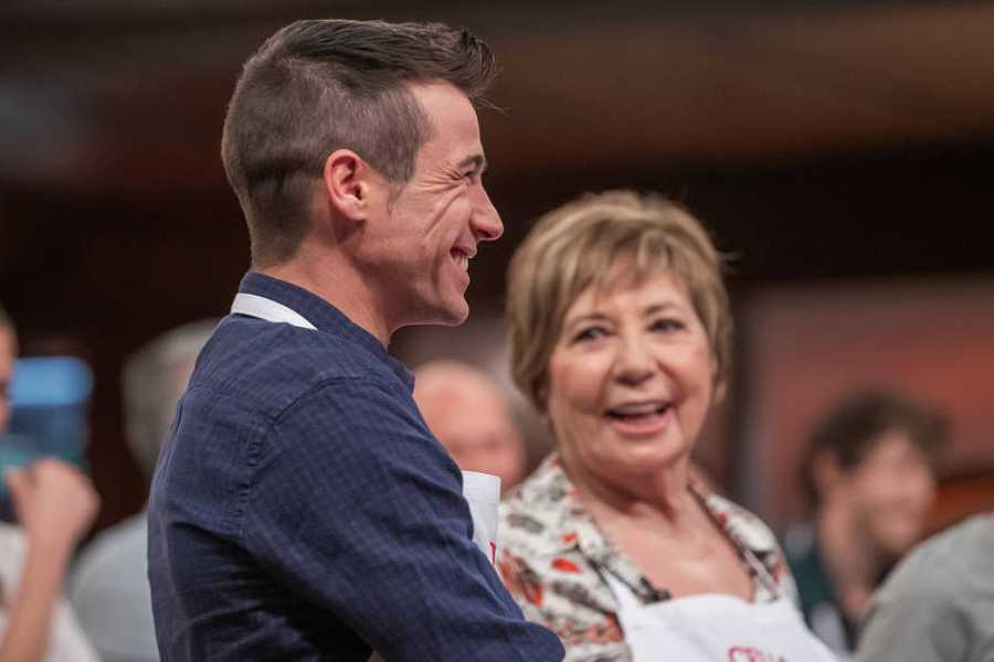 Juanjo Ballesta y Celia Villalobos
