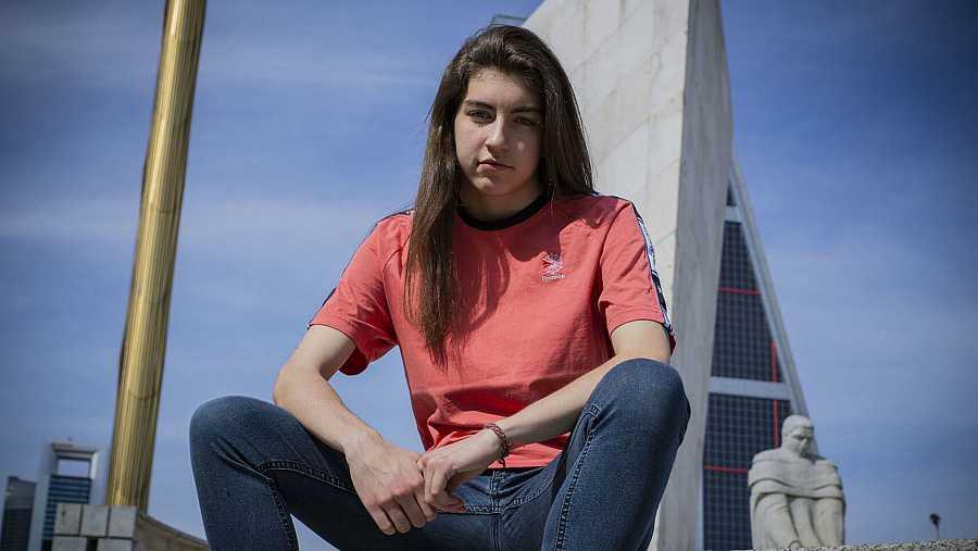 La freestyler Sara Socas.